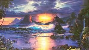 100 Christian Lassen Artist Paintings