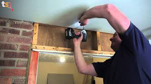 Ceiling Joist Spacing For Gyprock by Tommy U0027s Trade Secrets How To Plasterboard A Ceiling Youtube