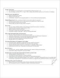 Interest Examples For Resume Hobbies Interests Sample Statement