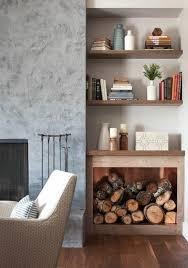 brennholzlagerung im wohnzimmer fein und leicht gemacht