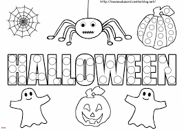 Coloriage Monstre Dhalloween A Imprimer Gratuit Archives