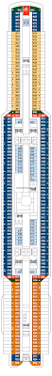 Norwegian Star Deck Plan 9 by Msc Seaside Deck 9 Deck Plan Tour