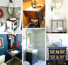 Small Bathroom Remodels Before And After by Creative Diy Small Bathroom Storage Ideas Remodel Before And After