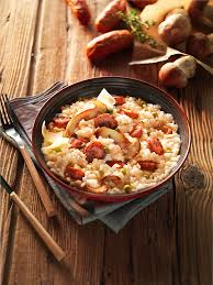 cuisiner des saucisses fum馥s risotto aux mini saucisses fumées cèpes et petits pois a vos