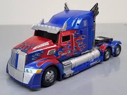 100 Optimus Prime Truck Model MinorRepaint TLK Premier Voyager TFW2005 The