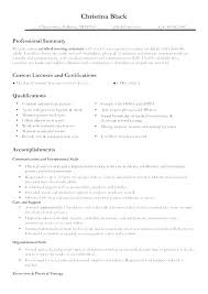Resume Samples For Nursing Students Examples Nurse Sample Template First