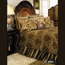 Michael Amini Pontevedra Luxury Bedding Set CMW Sheets & Bedding