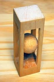 mystery golf ball in a block of wood woodlogger com youtube