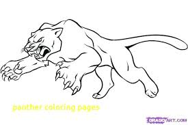 Black Panther Coloring Pages With Panth On Zentangle Animal Page Mario Pictures