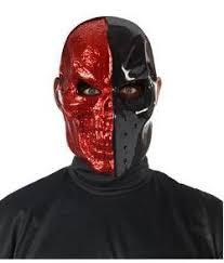 Purge Mask Halloween Spirit by Coxeer Full Face War Game Wargame Cs Skeleton Mask Red Copper