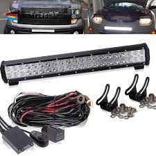 FIT Ford Truck SUV 4X4 Pick 20Inch LED Light Bull Bar +wiring ... Zroadz Bumper Mounted Led Lights 42018 Toyota Tundra Hood Grille Knight Rider Light Bar Kit 4 X Red Strobe Flashing Breakdown Truck Recovery Lorry Cree W Flush Mount Led Epic Submersible 4pcs Inch Led Driving Lights 6pcs3w Suv Ute 4x4 Offroad Car Boat 2018 22w 4960inch Fxible Car Tailgate Best Choice Products 12v Kids Rc Remote Control Suv Ride On 2x 17 80w Single Row Slim Low Profile Backup Reverse Costway 12v Mp3 Jeep Rc Set Of 2 24v Yellow Side Marker Light Lamp Indicator Truck Hightech Lighting Rigid Industries Adapt Recoil