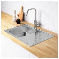 Kitchen Sink Stl Menu by Fyndig Single Bowl Top Mount Sink Ikea