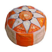 achat pouf marocain pas cher pouf marocain rond en cuir 20 euros
