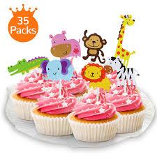 Unicorn Cake Topper Mold Fondant Cake Decoration Silicone Unicorn Horn Ears And Eyelash Moulds For Baby Shower Wedding Birthday Party 5 PCS Pink