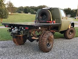 100 Take Off Truck Beds Custom Built Flatbed For One Of The Army S Our Classic 4x4s