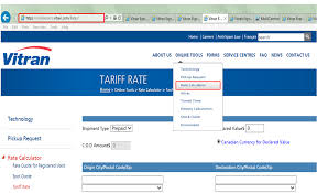 100 Vitran Trucking Express Rates FAQ How To Access Rates