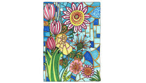 Dr Angela Porters Creative Haven Entangled Adult Coloring Book Also Has Over 30 Pages Of Unique Patterns Based On Zentangle A Technique Using
