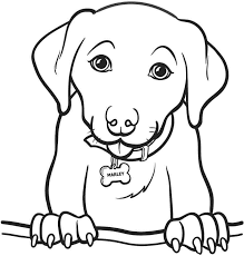 Dog Color Pages Printable Dachshund Puppies Coloring Page Template Its A Colourful World Pictures To