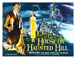Vintage Ad Archive Halloween Hysteria by Halloween Havoc The House On Haunted Hill Allied Artists 1959