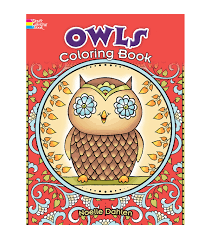 Adult Coloring Book Creative Haven Owls