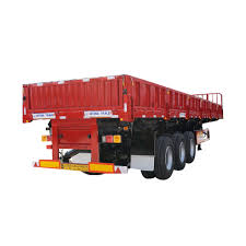 100 Side Dump Truck Hot Item 3 Axle Ing Semi Trailer