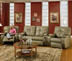 Southern Motion Reclining Furniture by Nova 4 Seat Reclining Home Theater Seating With Storage Wedges By