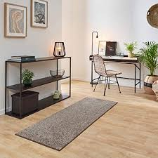 carpet studio ohio teppich wohnzimmer 115x170cm weicher kurzflor teppich wohnzimmer esszimmer schlaffzimmer pflegeleicht geruchsneutral grau
