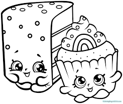 Shopkins Coloring Pages Season Limited Edition 7 1019