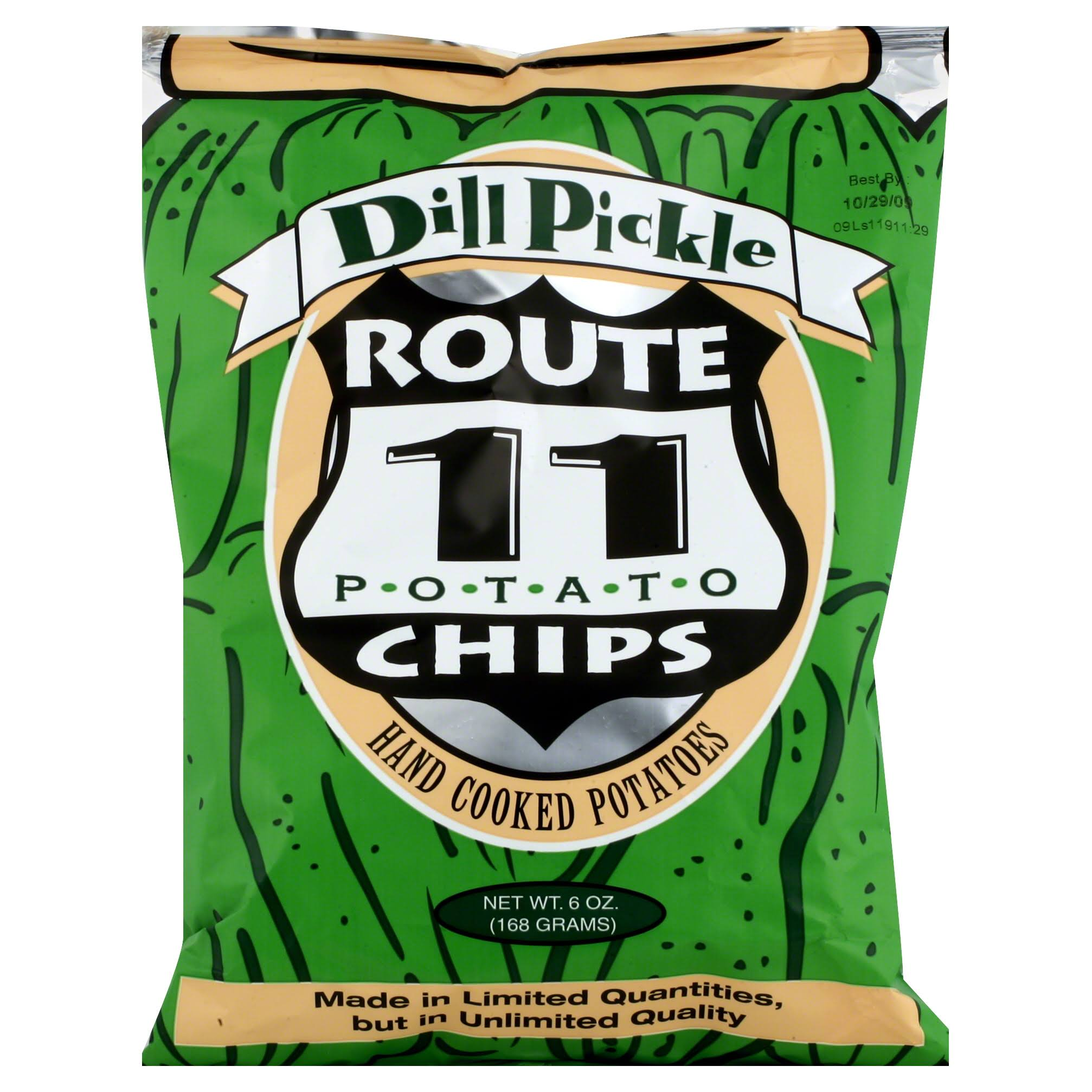 Route 11 Potato Chips - Dill Pickle, 6oz