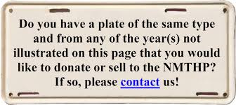 New Mexico Weight Distance Farm Truck License Plates