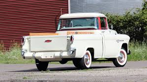 1955 Chevrolet 3100 Cameo Carrier Suburban Pickup Truck Retro ... 1956 Chevrolet Cameo For Sale Classiccarscom Cc794320 1955 Chevy Truck Rear 55 59 1958 Pickup Start Run External Youtube Cameo Gmc Trucks Antique Automobile Club Of 1957 Chevy Truck Hot Rod Network F136 Monterey 2012 Pick Up Truckweaver Al Mad Flickr Rm Sothebys The Wiseman God Ertl 118 3100 White 7340 New American Street Feature Tom Millikens 56 Is Done Right
