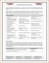 Civil Engineer Resume Sample Pdf Elegant 30 Best Format For Engineers Templates