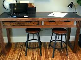 Rustic Computer Desk Office Accessories Living Room For Sale