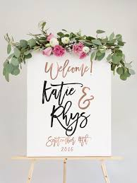 Our Wedding Welcome Sign Is The Perfect Way To Guests Your Reception