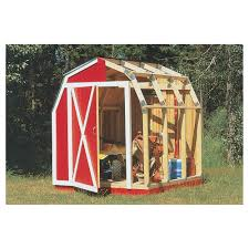 Slant Roof Shed Plans Free by Quick Framer Universal Storage Shed Framing Kit U2014 Gambrel Roof