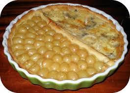 dessert aux raisins frais tarte aux raisins blancs