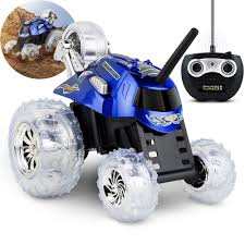Details About Thunder Tumbler Blue Car Clear Wheels W/Remote In 2019 ...