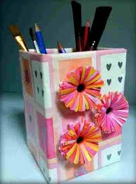 Art And Craft For Kids With Waste Material Ideas Arts Crafts