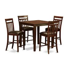Mahogany Counter Height Table And 4 Dinette Chairs 5-piece Dining Set Kitchen Design Table Set High Top Ding Room Five Piece Bar Height Ideas Mix Match 9 Counter 26 Sets Big And Small With Bench Seating 2018 Progressive Fniture Willow Rectangular Tucker Valebeck Brown Top Beautiful Cool Merlot Marble Palate White 58 A America Bri British Have To Have It Jofran Bakers Cherry Dion 5pc