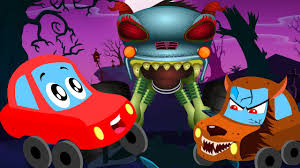 Halloween Monster Names List by Little Red Car Halloween Is Back Haunted House Monster Truck