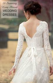 Long Sleeve Wedding Dresses Perfect 20 Gowns For Fall And Winter Brides