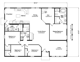 Triple Wide Modular Homes Floor Plans by Home Floor Plans Home Living Room Ideas