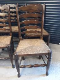 6 Ladder Back Chairs In Great Boughton For £90.00 For Sale ... 6 Ladder Back Chairs In Great Boughton For 9000 Sale Birch Ladder Back Rush Seated Rocking Chair Antiques Atlas Childs Highchair Ladderback Childs Highchair Machine Age New Englands Largest Selection Of Mid20th French Country Style Seat Side By Hickory Amina Arm Weathered Oak Lot 67 Set Of Eight Lancashire Ladderback Chairs Jonathan Charles Ding Room Dark With Qj494218sctdo Walter E Smithe Fniture Design A 19th Century Walnut High Chair With A Stickley Rush Weave Cape Ann Vintage Green Painted