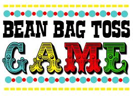Bean Bag Toss Game Clipart