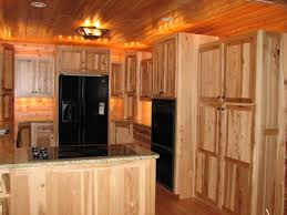 Menards Unfinished Hickory Cabinets by Rustic Cherry Kitchen Cabinets Home Design Ideas