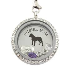 Cane Corso Hair Shedding by Pitbull Mom Steel Locket Pendant The Dog Paws U0026 The Cat Claws