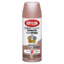 Krylon 43264846 Colormaster Indoor Aerosol Paint 11oz GOLD11ozROSE