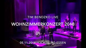 tim bendzko live zusammenschnitt wohnzimmerkonzert 2018 lichtburg essen