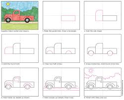 100 How To Draw A Truck Step By Step Fall Pickup PFK 5th Grade Ings Rt Rt Projects