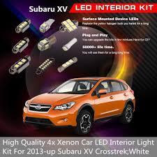 100 Interior Truck Lighting Details About 7Pcs White LED Lights Car Parts Package Fit 2013up Subaru XV Crosstrek